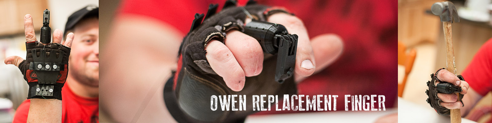 E-NABLE Slovakia - The Owen Replacement Finger
